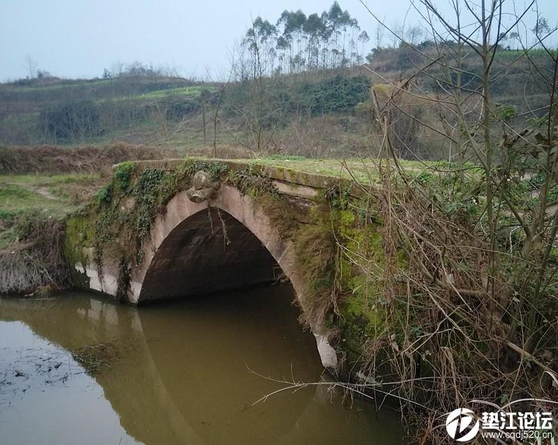 垫江盐井溪水库大坝旁即将消失的古迹