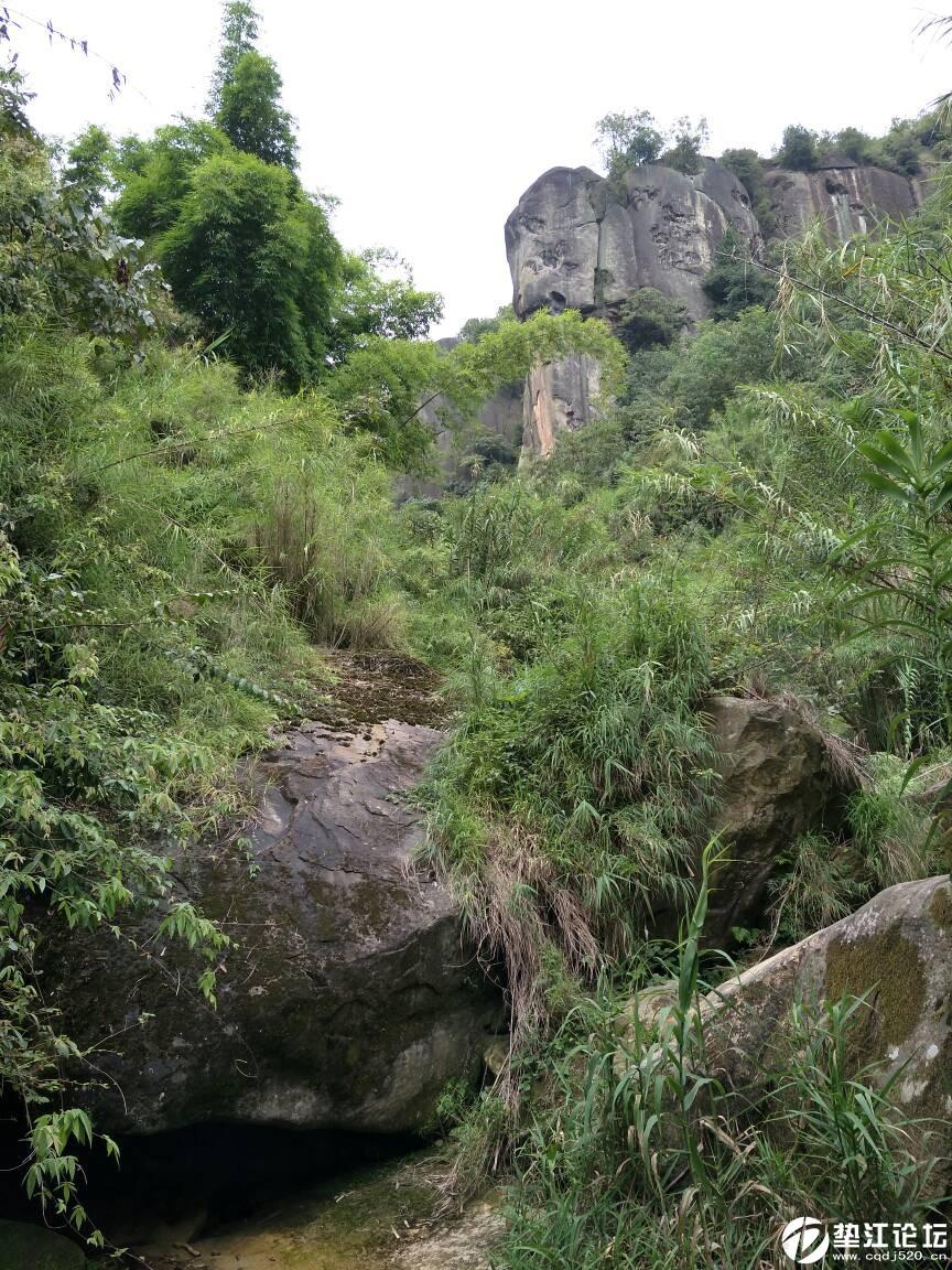 垫江鹞子岩原生态风景区