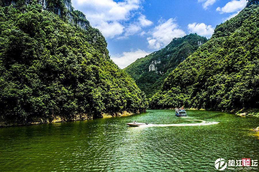 原生态的峡谷