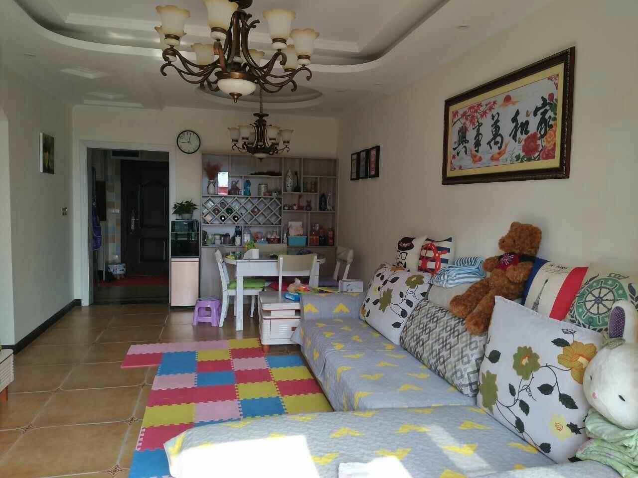 牡丹城,精装两室,合理设计!家具家电齐!