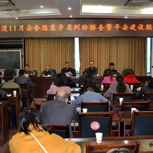桂溪街道召开11月份安全隐患矛盾纠纷排查暨平安建设联席会